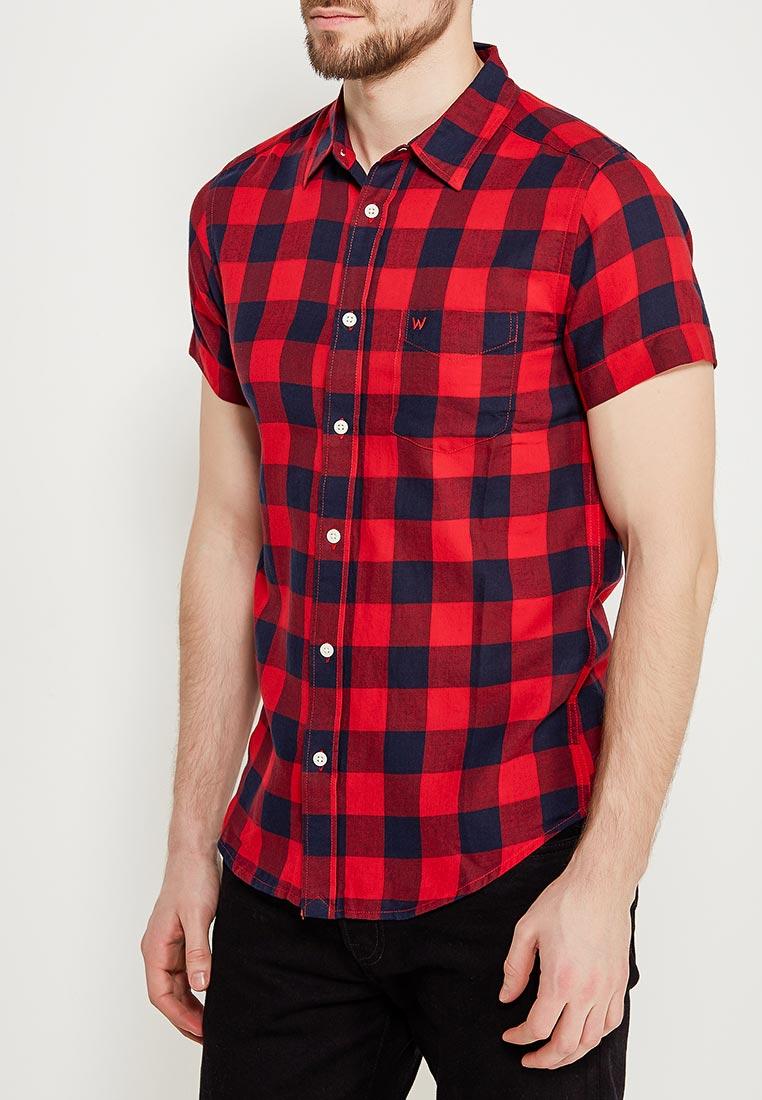 Рубашка с коротким рукавом Wrangler (Вранглер) W5881OROV