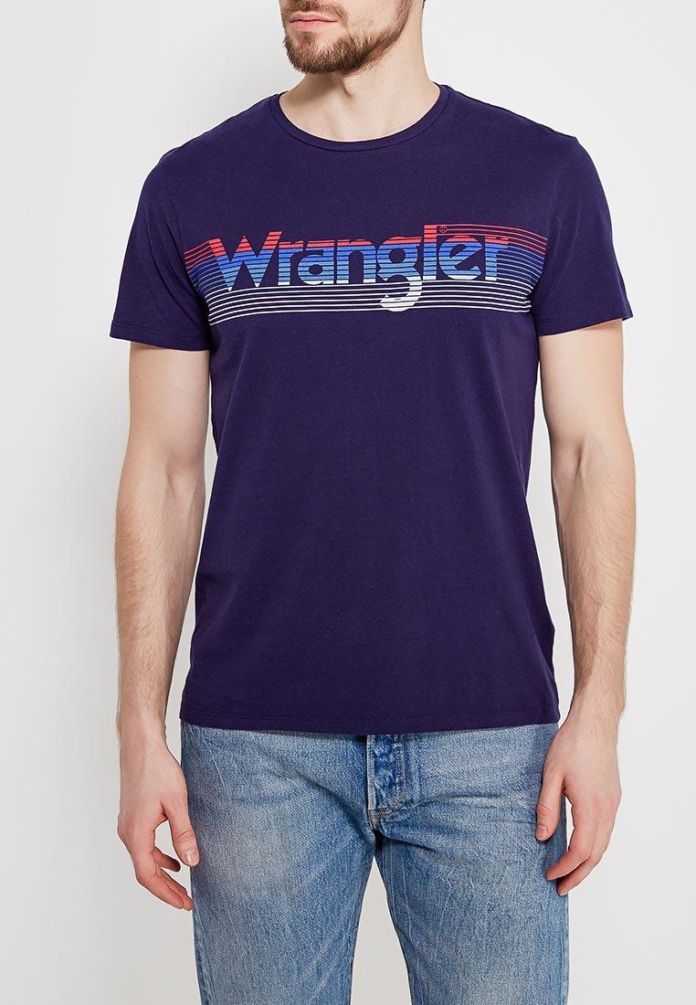 Футболка с коротким рукавом Wrangler (Вранглер) W7B27FK49