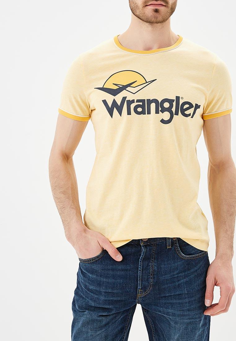 Футболка с коротким рукавом Wrangler (Вранглер) W7B45FQUY: изображение 1