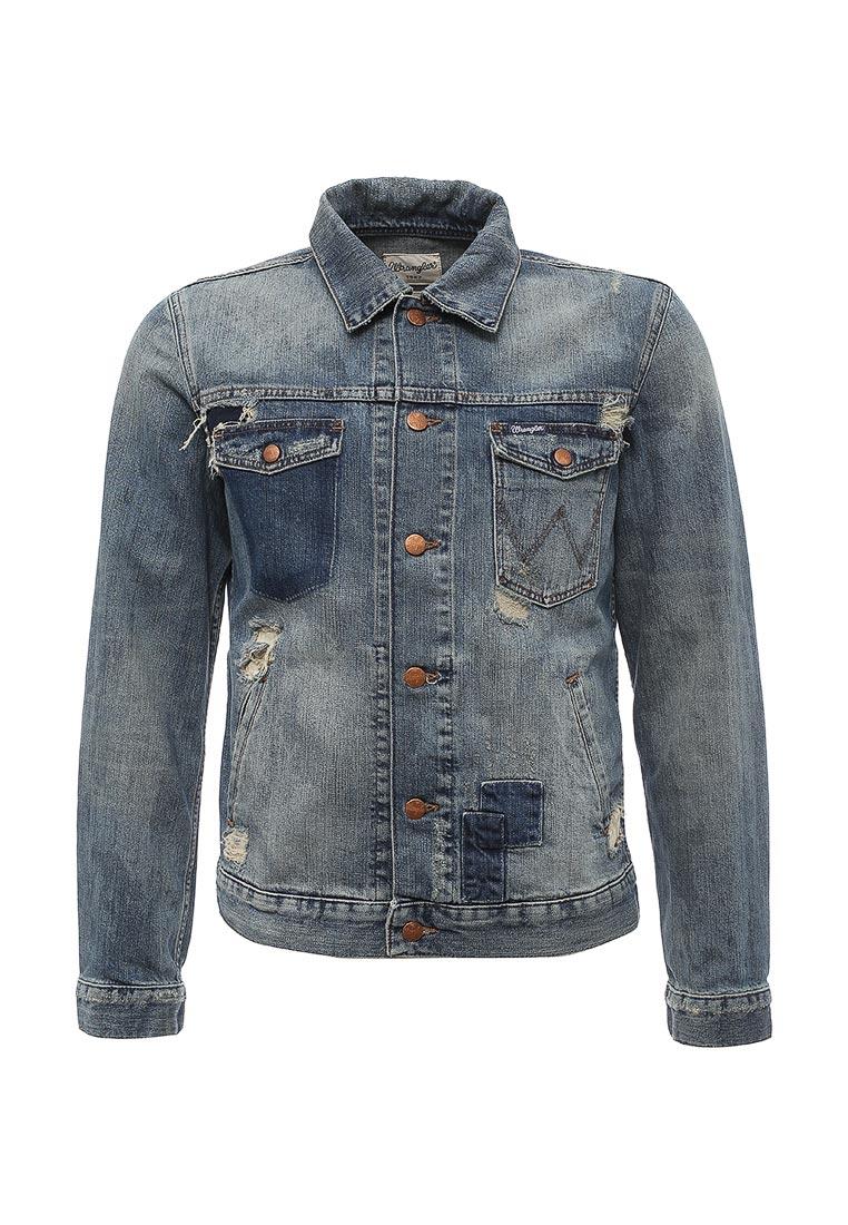 Джинсовая куртка Wrangler (Вранглер) W443Y593Y