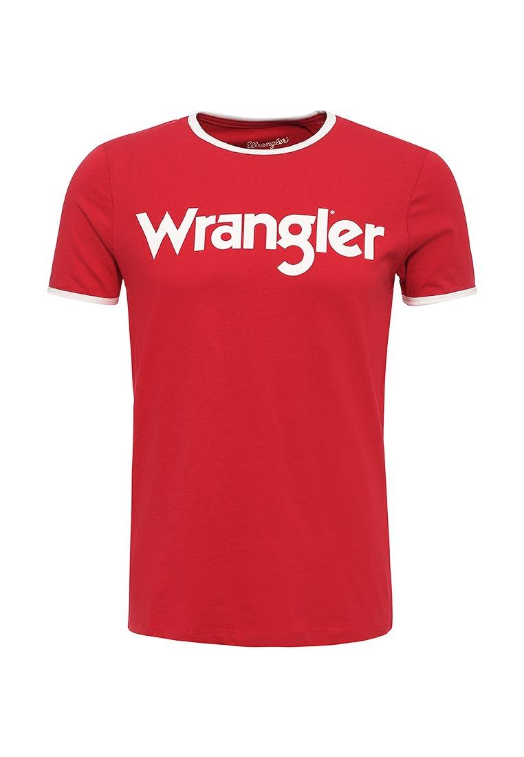 Футболка с коротким рукавом Wrangler (Вранглер) W7A76FQ9S