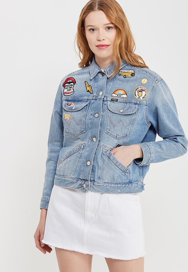 Джинсовая куртка Wrangler (Вранглер) W415GF128
