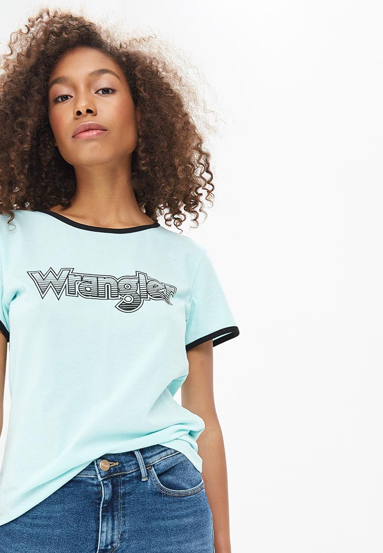 Футболка с коротким рукавом Wrangler (Вранглер) W7385EVWD