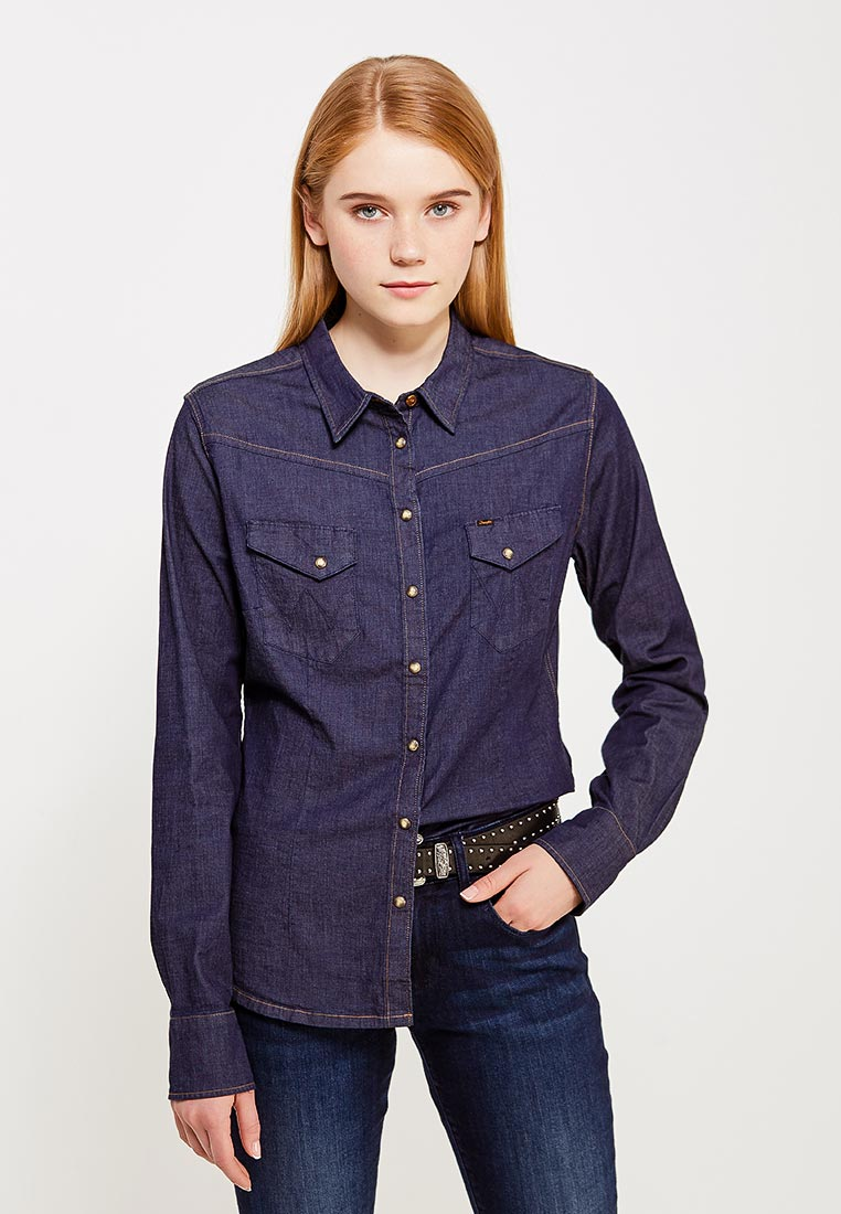 Женские джинсовые рубашки Wrangler (Вранглер) W52283V1E