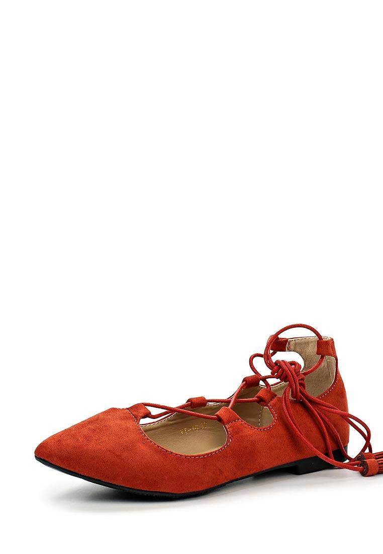 Туфли на плоской подошве WS Shoes YT-16