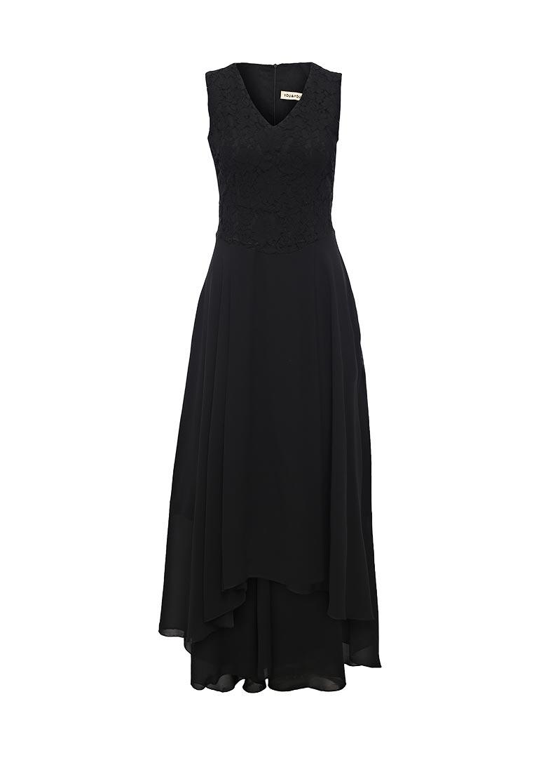 Платье-макси You & You R25-B8662