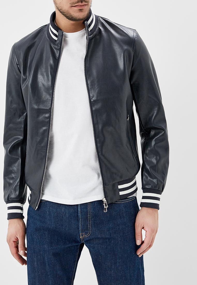 Кожаная куртка Y.Two B25-9268