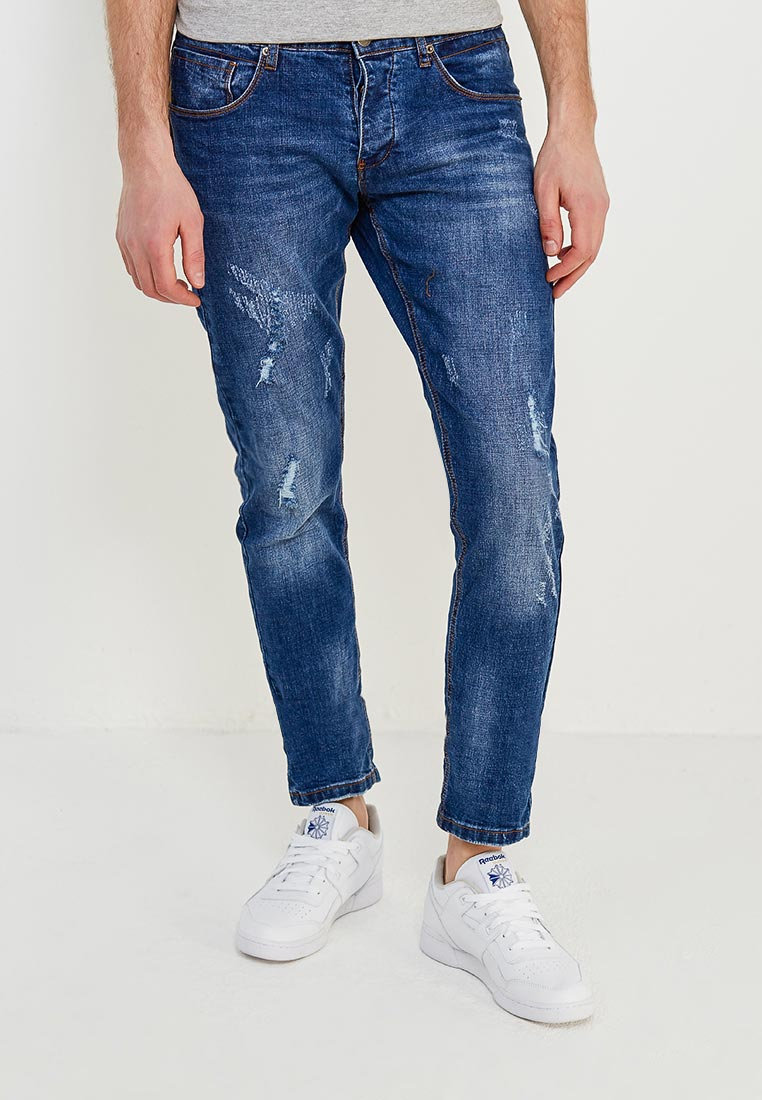 Зауженные джинсы Y.Two B25-AB023