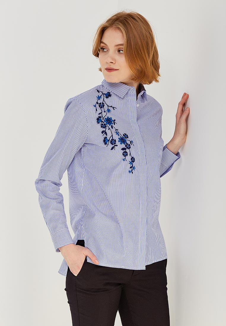 Женские джинсовые рубашки Zarina (Зарина) 8122083313103