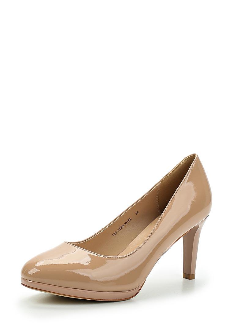 Женские туфли Zenden Woman 126-33WB-031PK