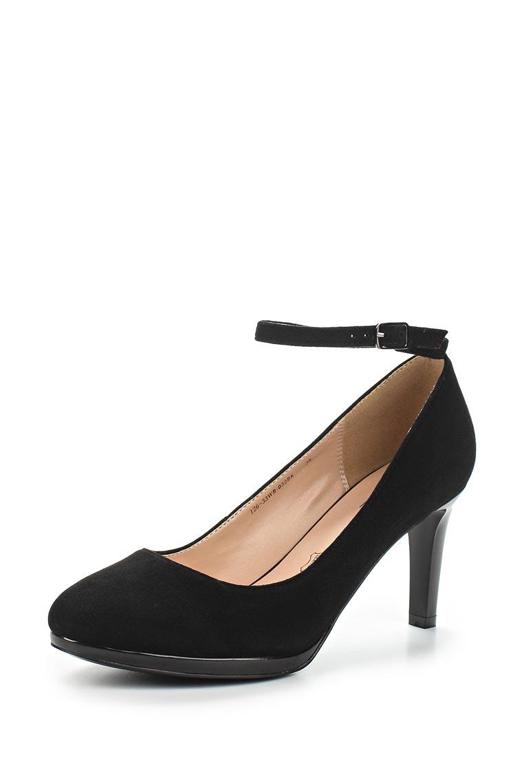 Женские туфли Zenden Woman 126-33WB-032BK