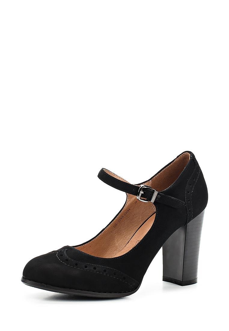 Женские туфли Zenden Woman 126-33WB-036BK