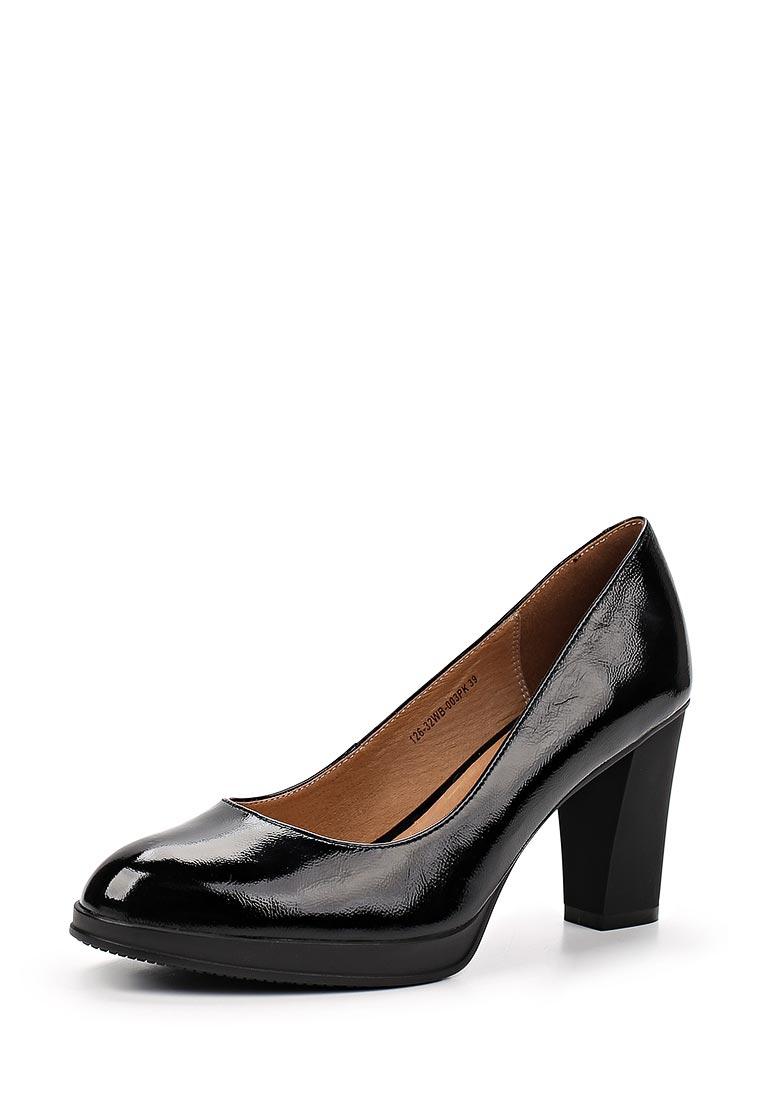 Женские туфли Zenden Woman 126-32WB-003PK