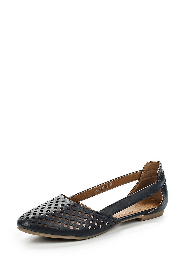 Туфли на плоской подошве Zenden 26-31WG-326SS