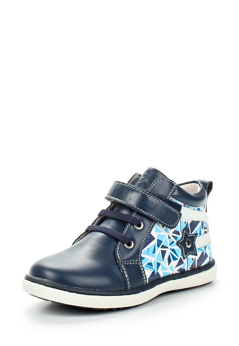 Ботинки для мальчиков Зебра 11552-5