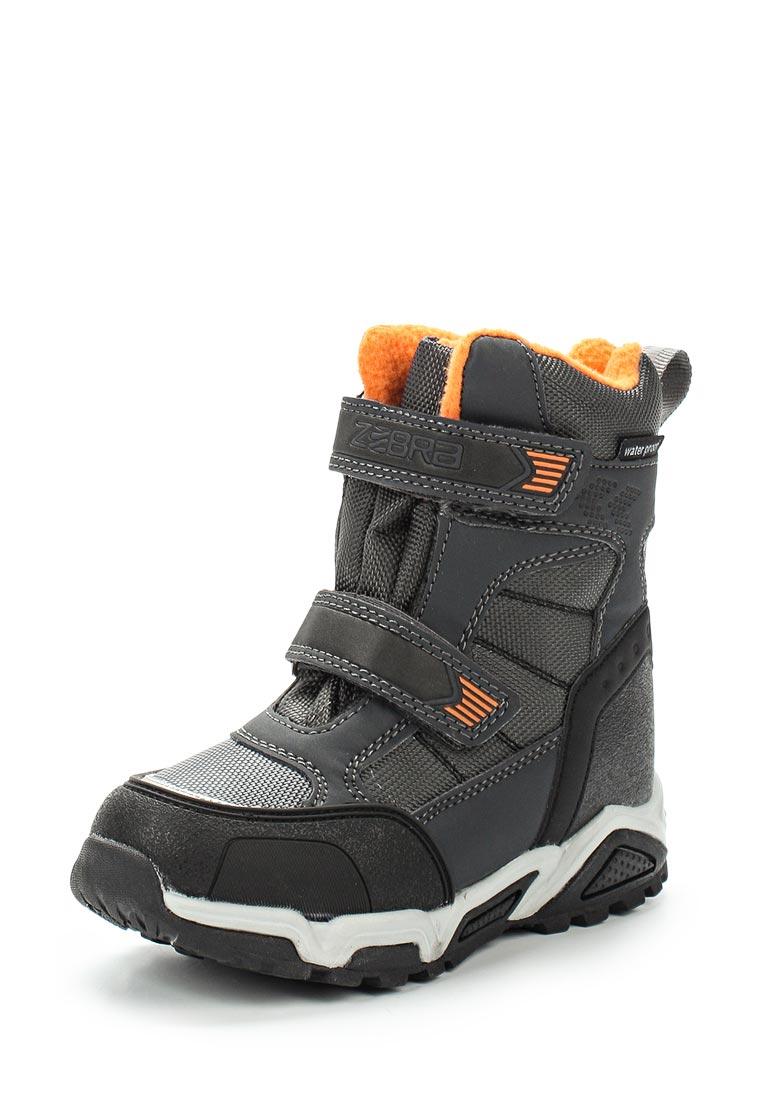 Ботинки для мальчиков Зебра 11018-10