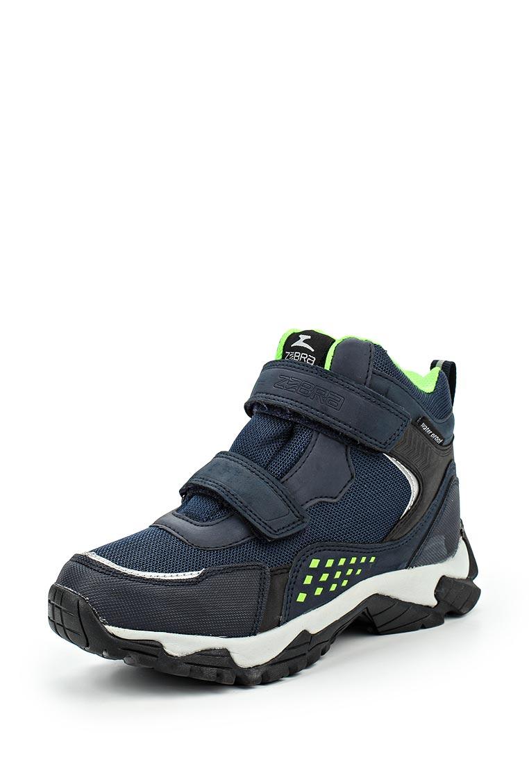 Ботинки для мальчиков Зебра 11040-5