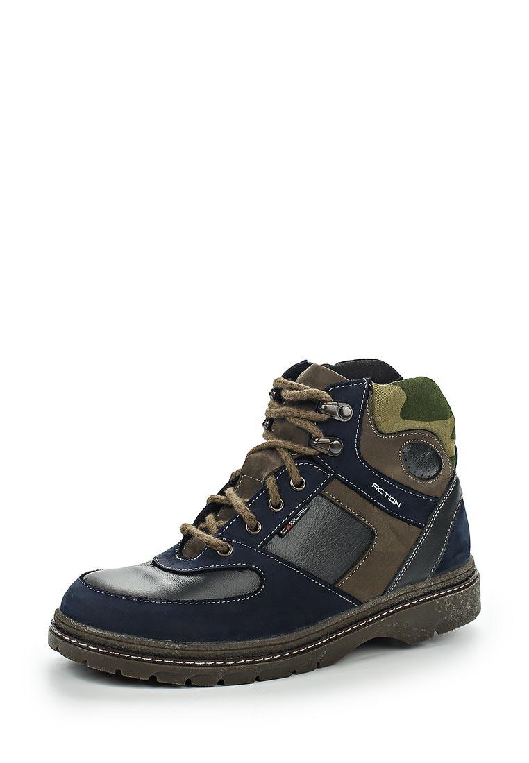 Ботинки для мальчиков Зебра 11386-5