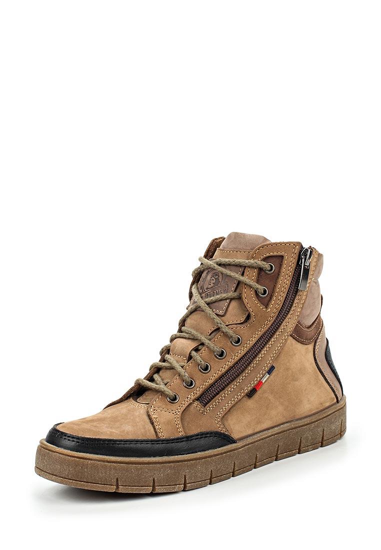 Ботинки для мальчиков Зебра 11389-17