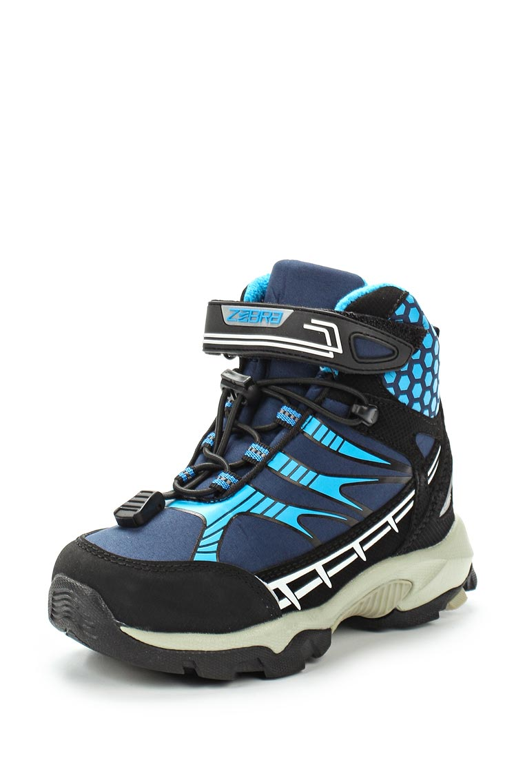 Ботинки для мальчиков Зебра 11970-5