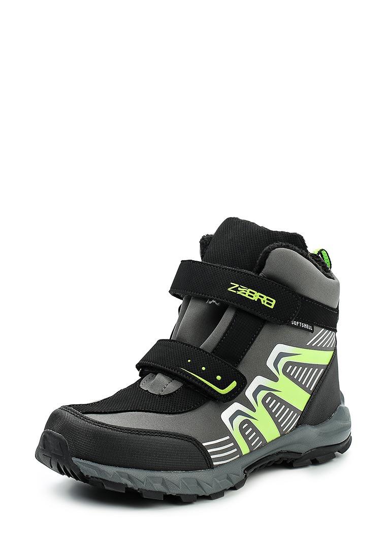 Ботинки для мальчиков Зебра 10971-10