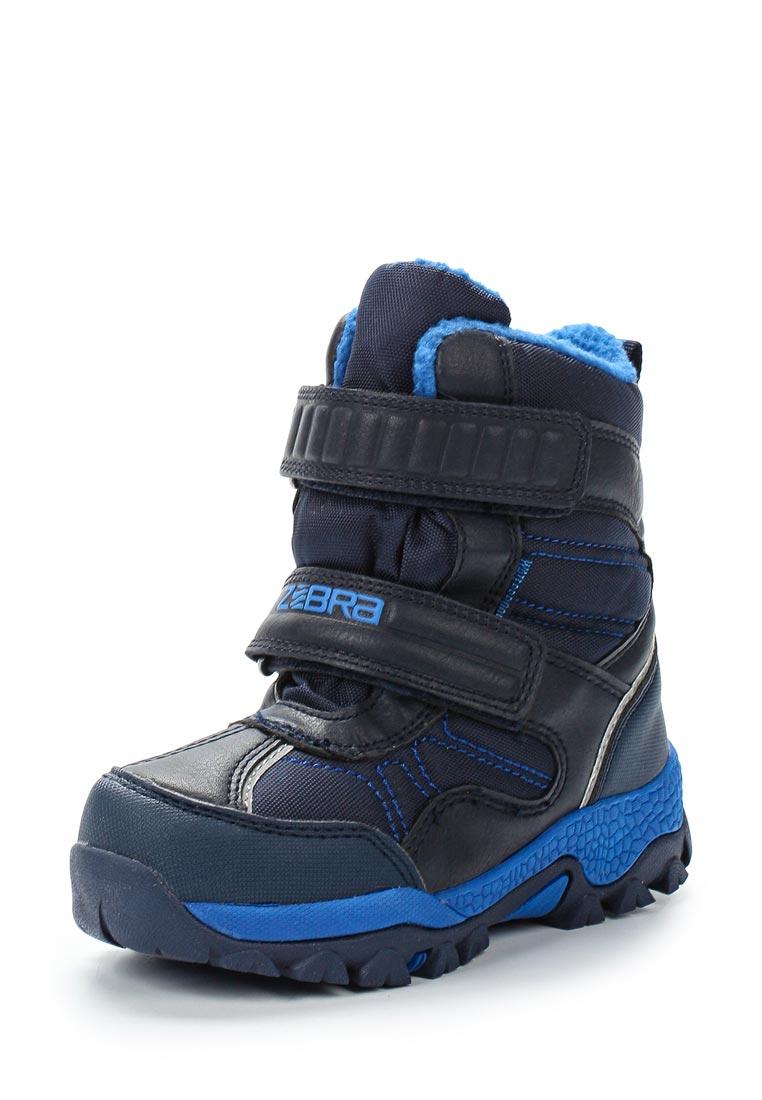Ботинки для мальчиков Зебра 12021-5