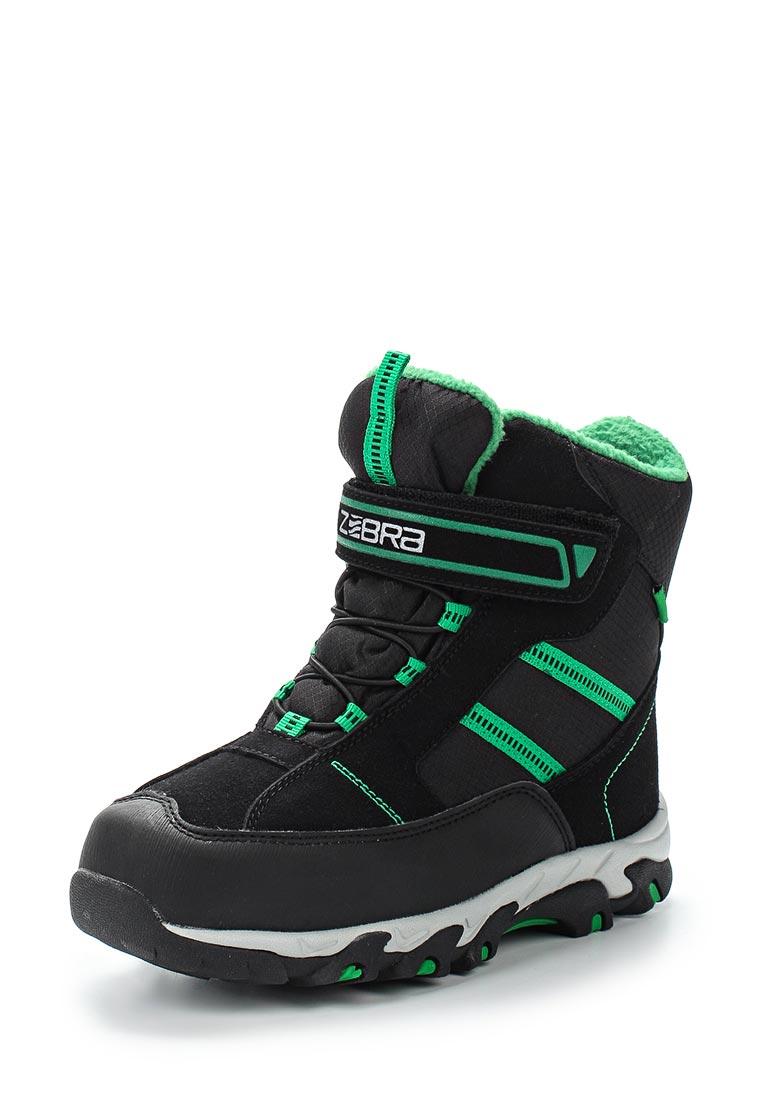 Ботинки для мальчиков Зебра 12027-1