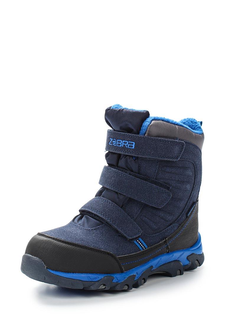 Ботинки для мальчиков Зебра 12030-5
