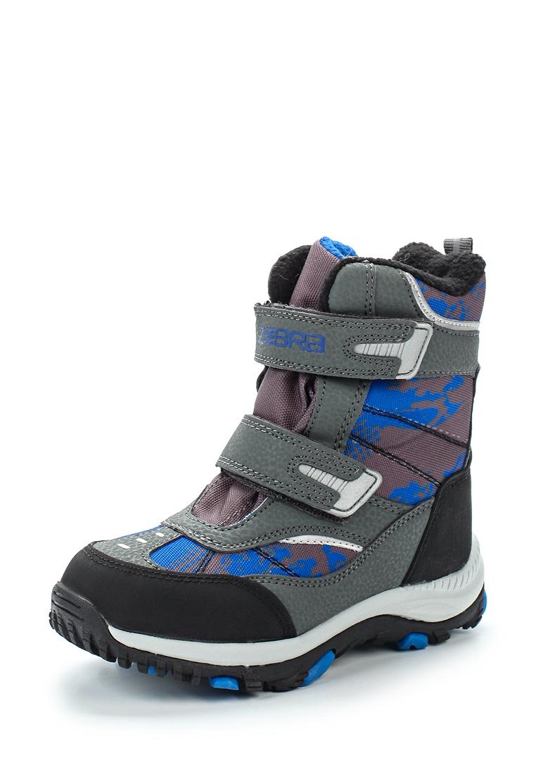 Ботинки для мальчиков Зебра 11019-10