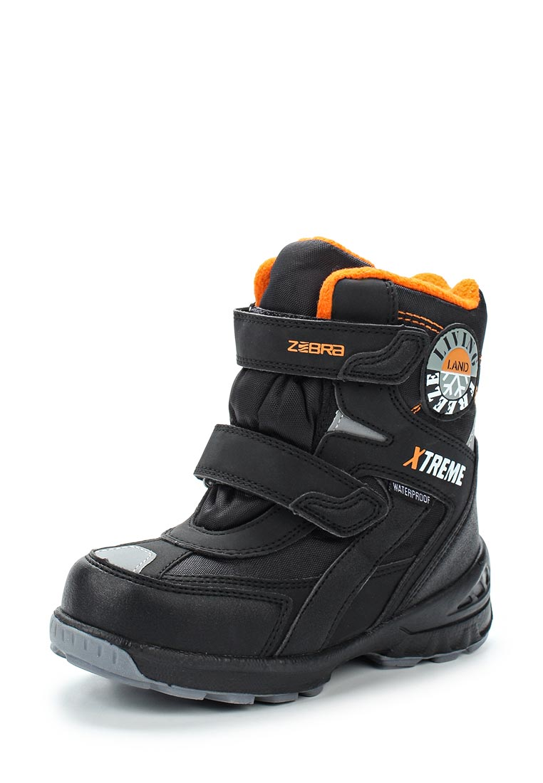 Ботинки для мальчиков Зебра 11033-1