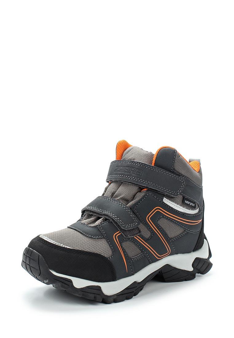 Ботинки для мальчиков Зебра 11037-10