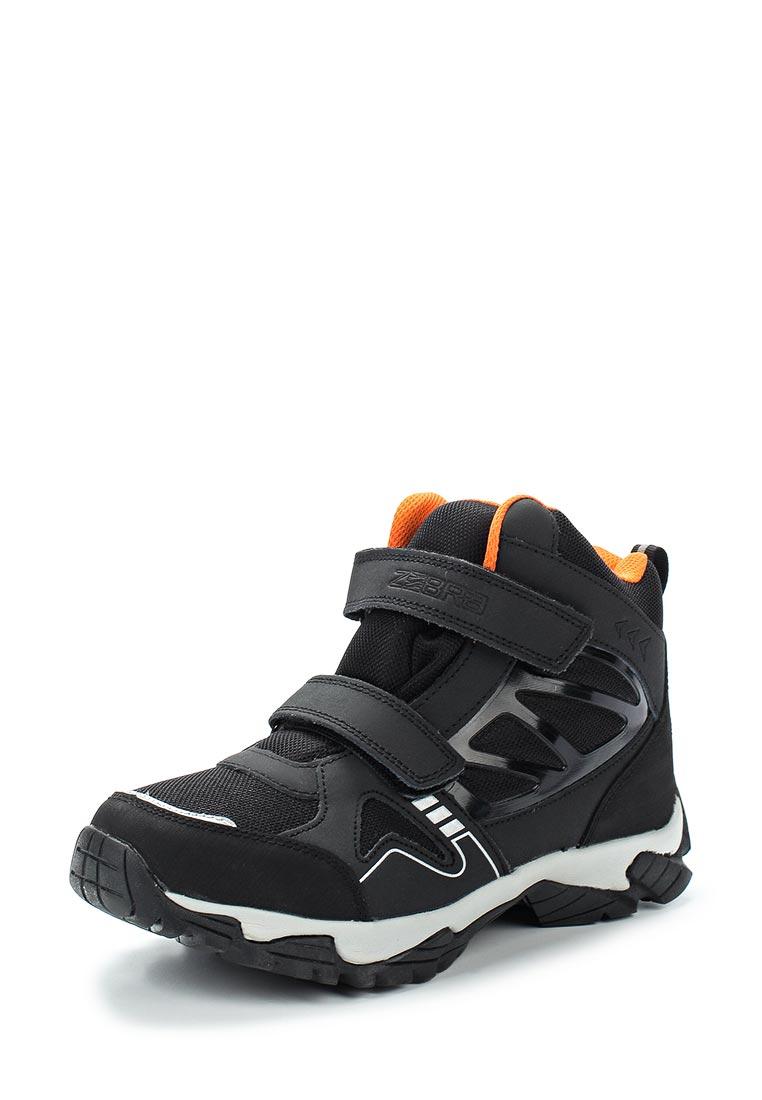 Ботинки для мальчиков Зебра 11050-1
