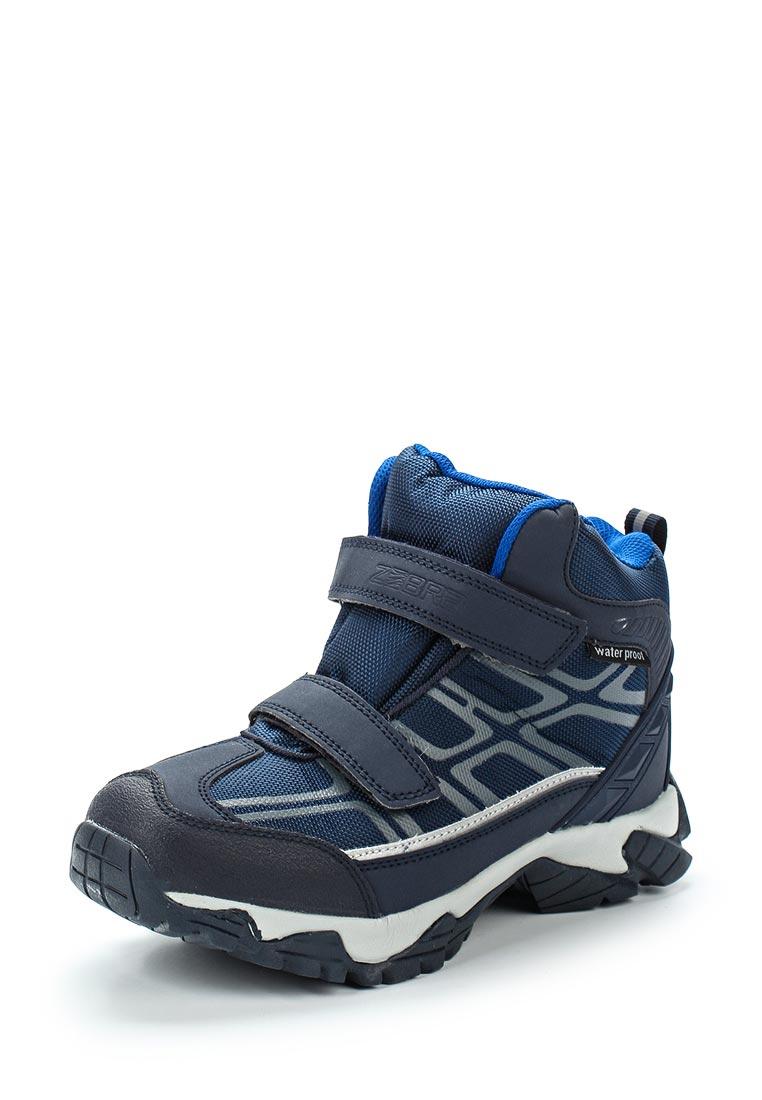 Ботинки для мальчиков Зебра 11051-5