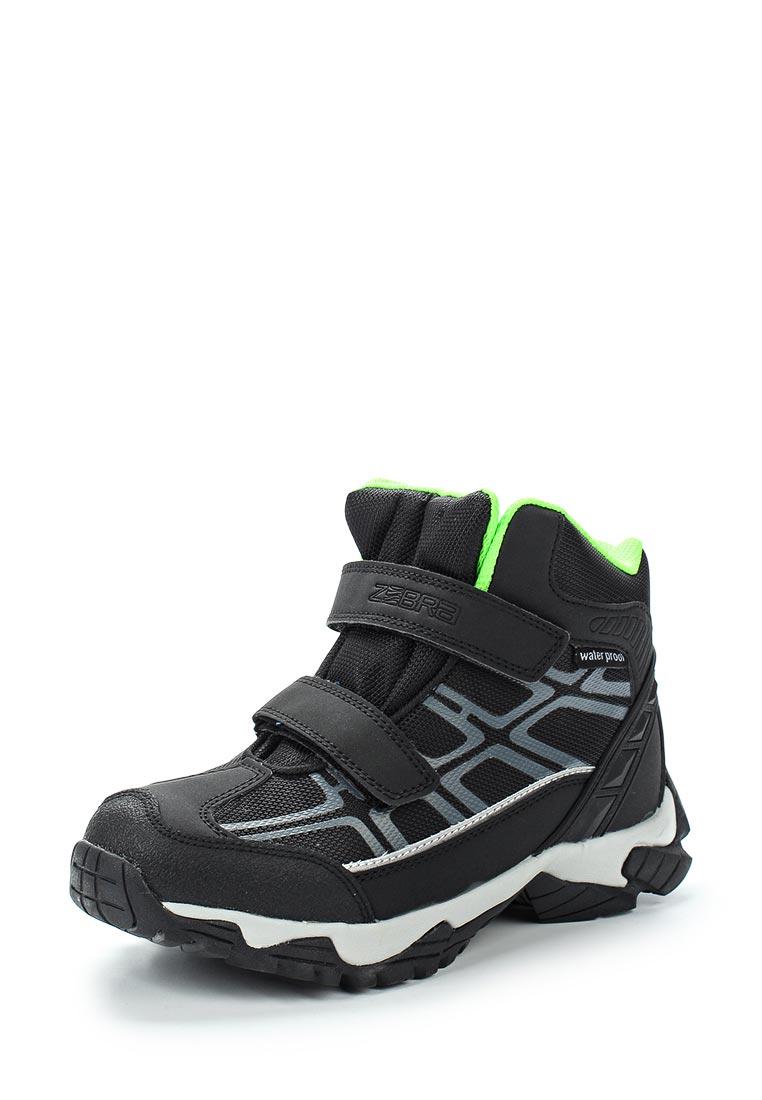 Ботинки для мальчиков Зебра 11052-1