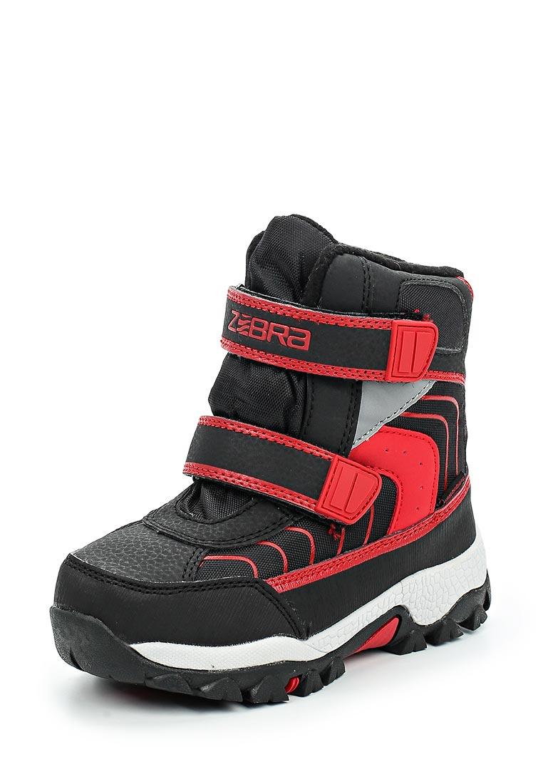 Ботинки для мальчиков Зебра 12019-1