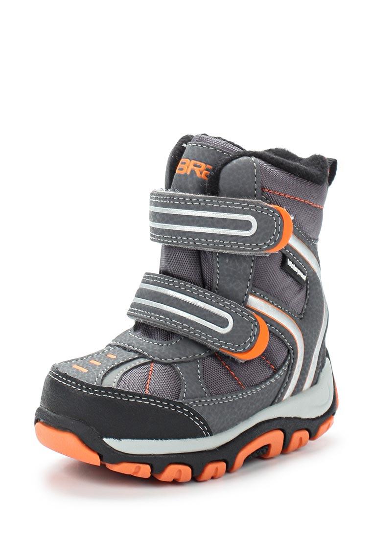 Ботинки для мальчиков Зебра 11002-10