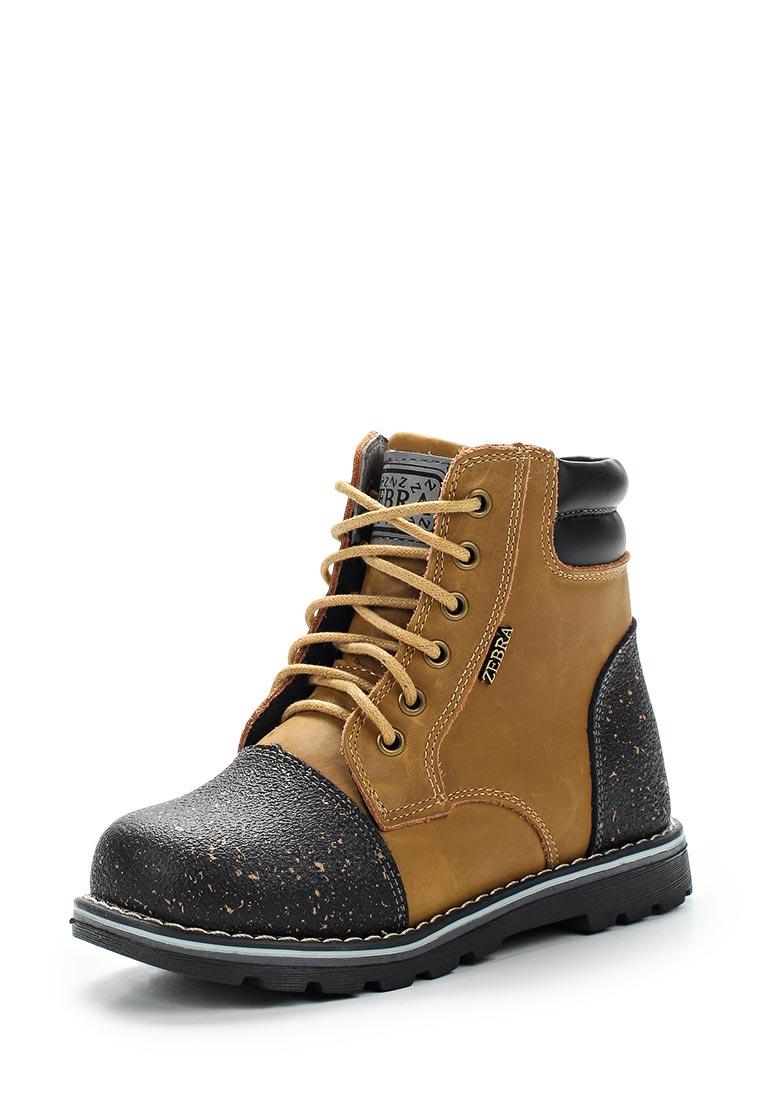 Ботинки для мальчиков Зебра 10805-3