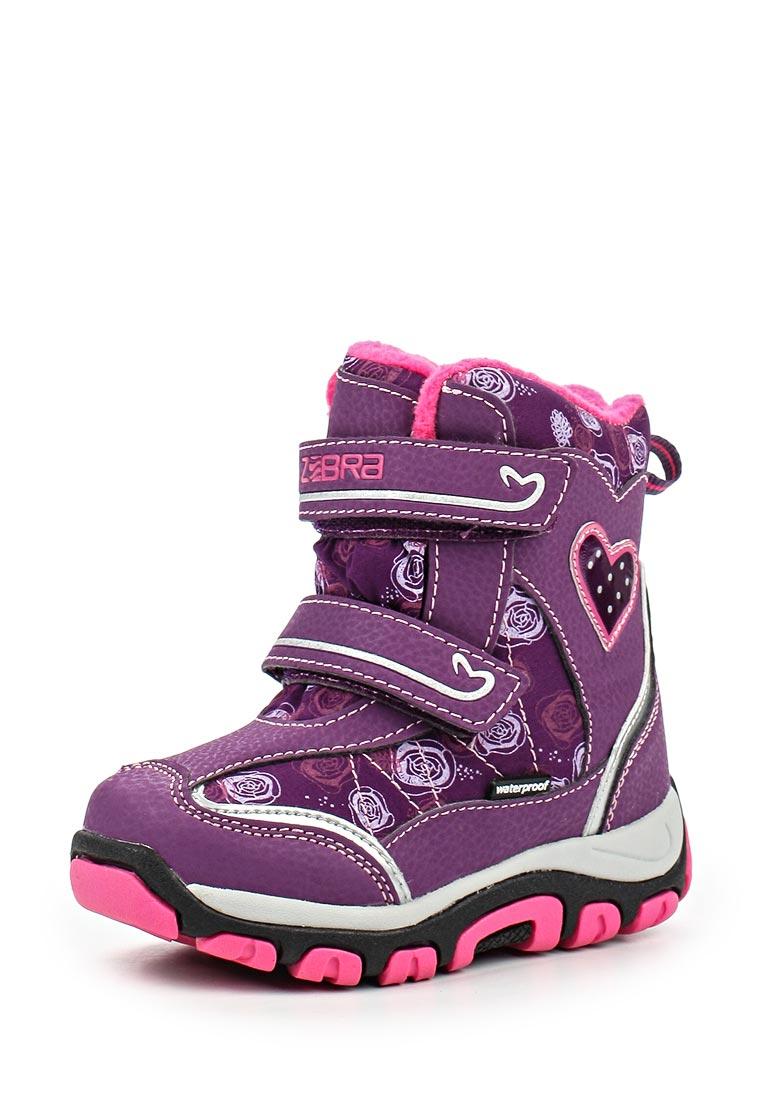 Ботинки для девочек Зебра 11003-20