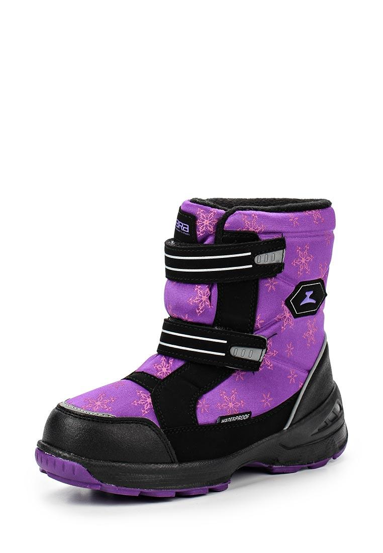 Ботинки для девочек Зебра 11026-20