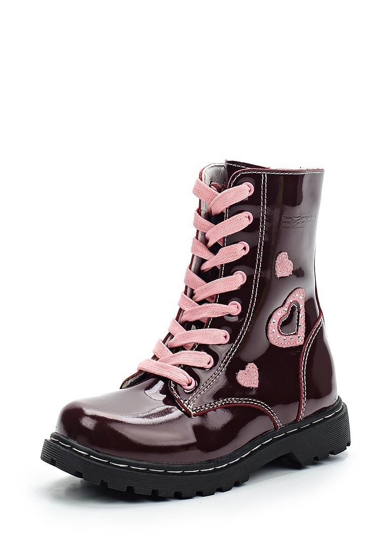 Ботинки для девочек Зебра 11854-7