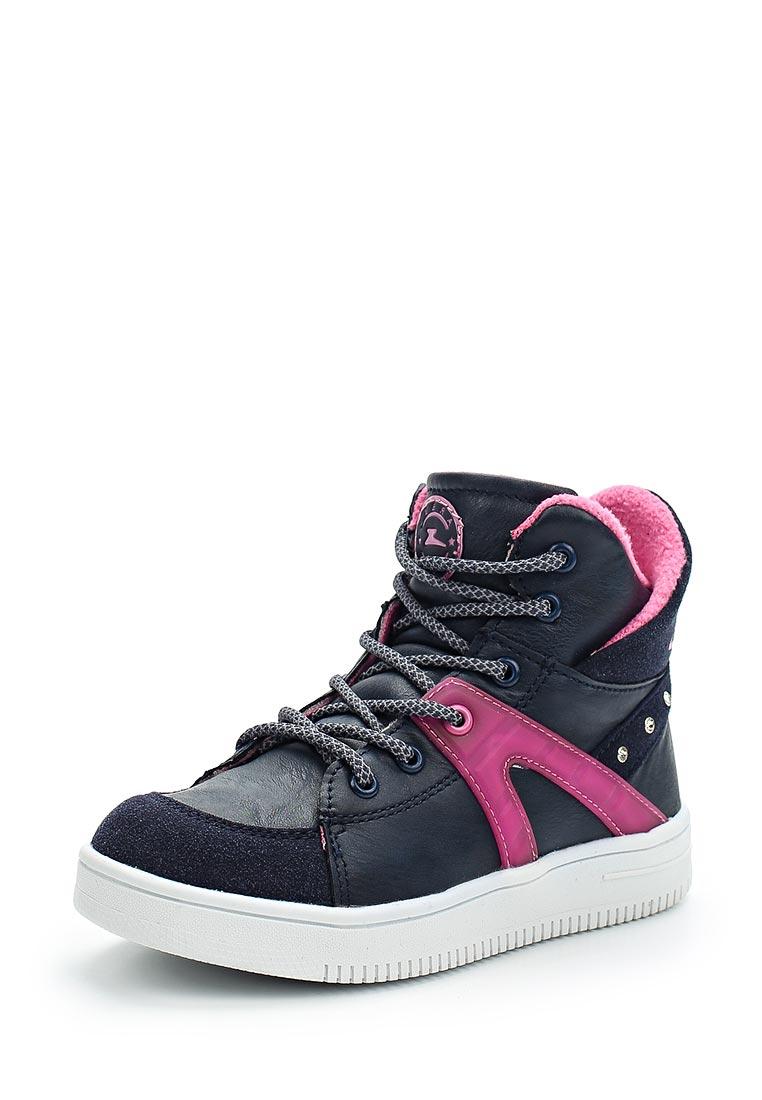 Ботинки для девочек Зебра 11871-5