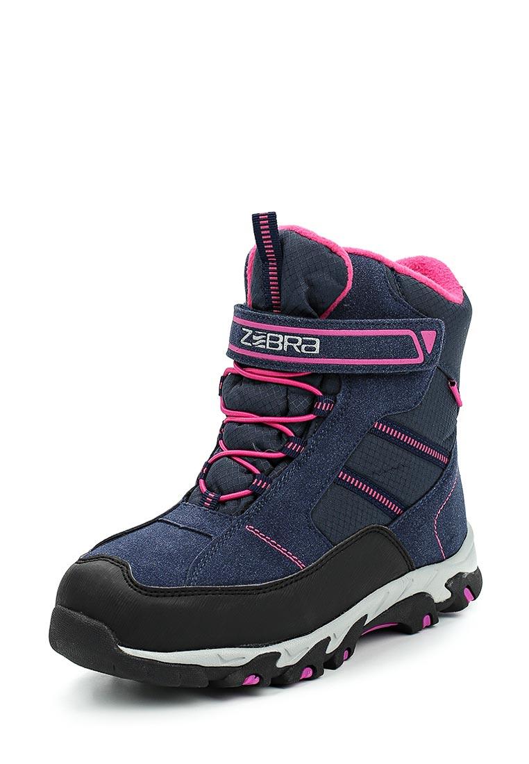 Ботинки для девочек Зебра 12028-5