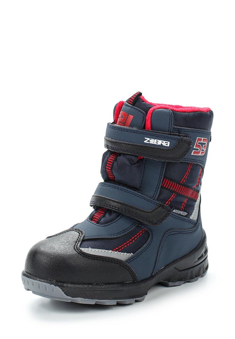 Ботинки для девочек Зебра 11036-5