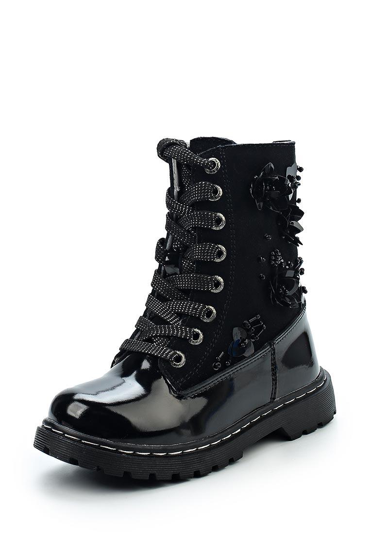 Ботинки для девочек Зебра 11855-1