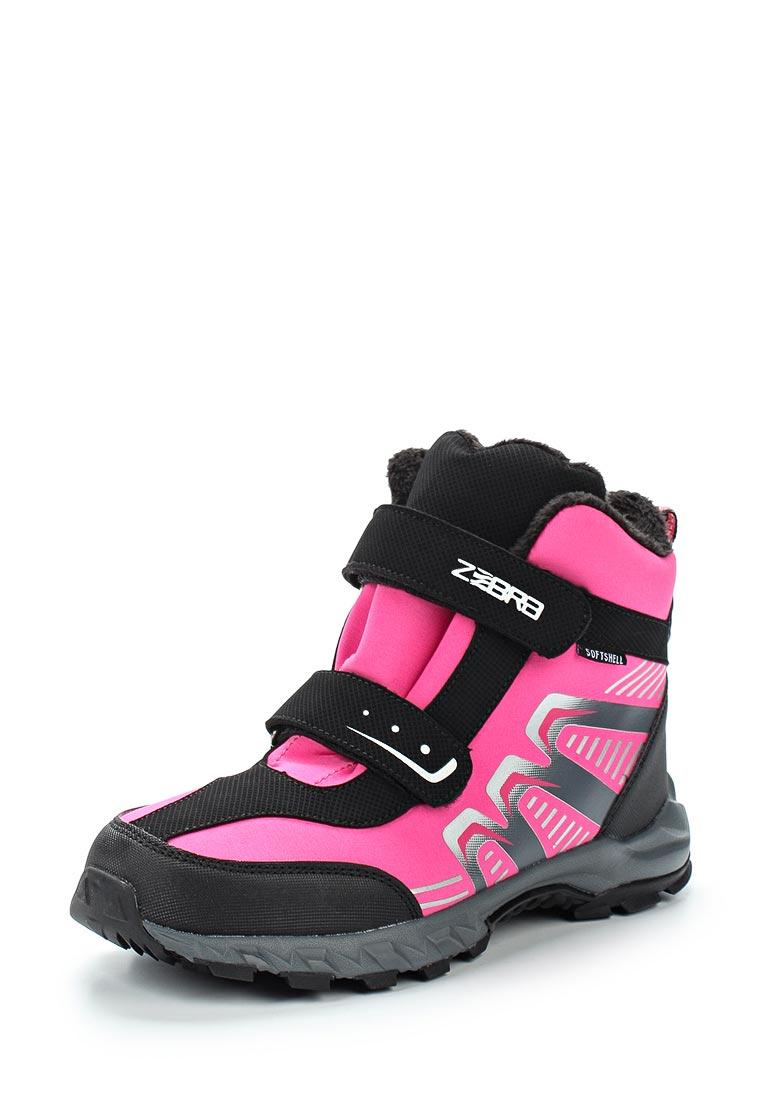 Ботинки для девочек Зебра 10972-9