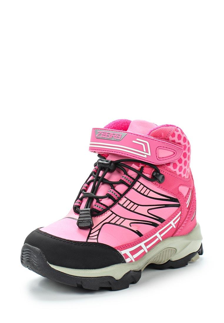 Ботинки для девочек Зебра 11969-9
