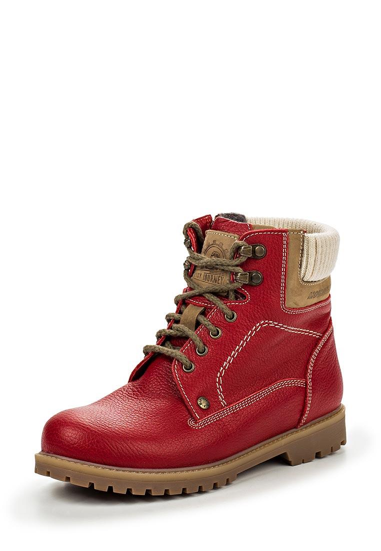 Ботинки для девочек Зебра 11365-4