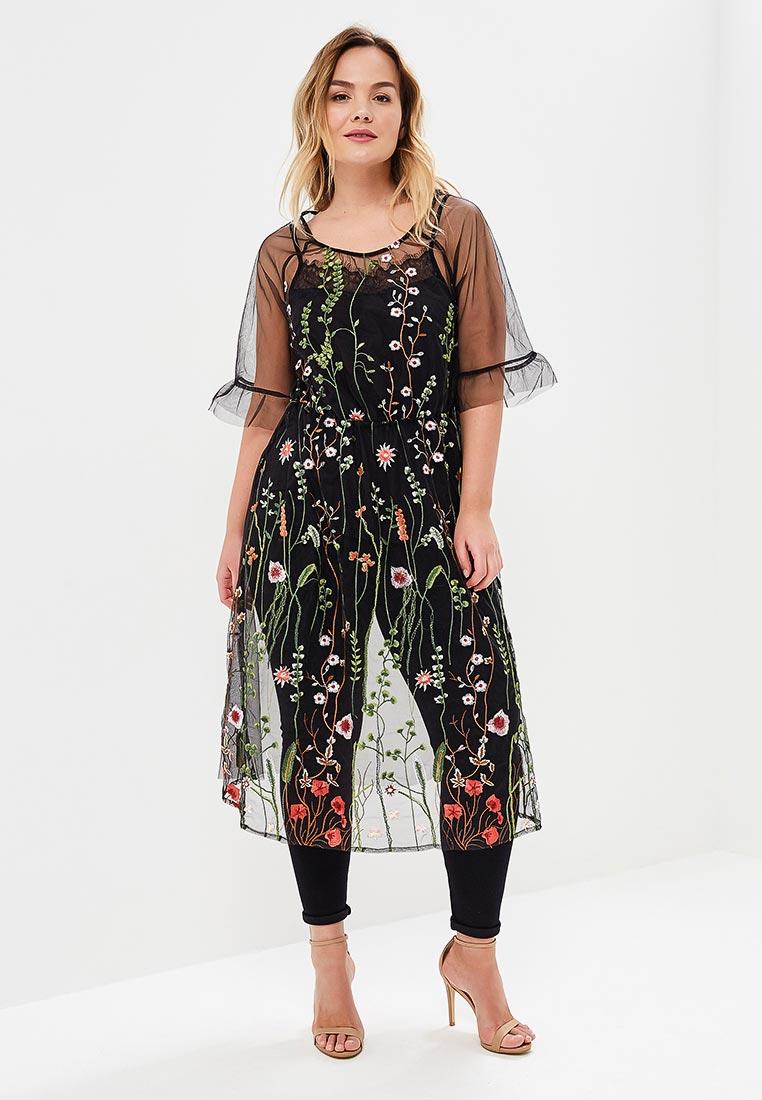 Вечернее / коктейльное платье Zizzi M40053A