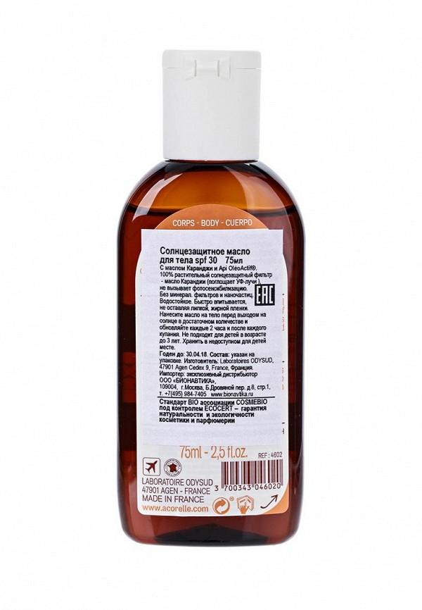 Масло Acorelle Солнцезащитное для тела, SPF 30, 75мл