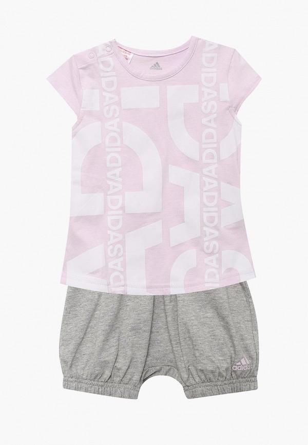 Костюм спортивный для девочки adidas CF7434